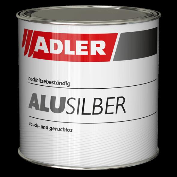 Heat-resistant paint, Alu-Silber-Siliconbronze