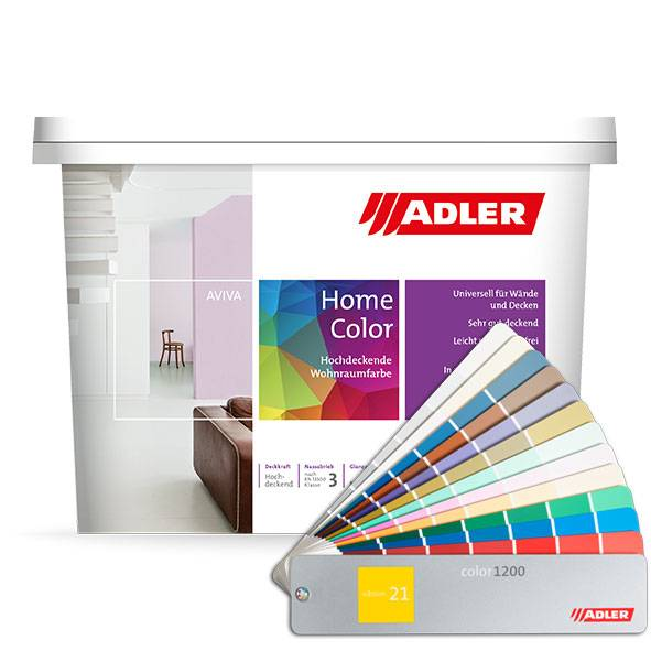 Aviva Home-Color, interior dispersion paint, pastel-coloured