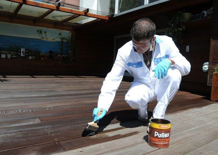 Údržba a renovace dřevěných teras