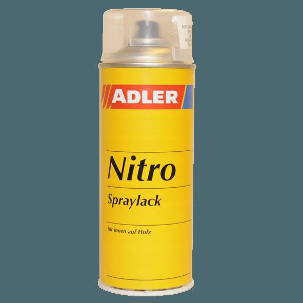 Spray paint, colourless, glossy, silk-matt