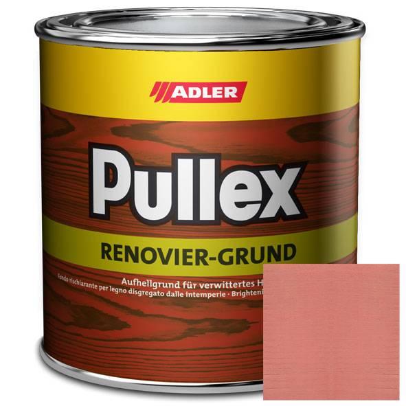 Pullex Renovier-Grund Rot - červený základní nátěr na dřevo