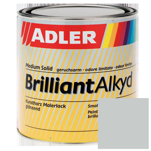 Glossy synthetic resin topcoat, Light grey, RAL 7035, ADLER Brilliantalkyd