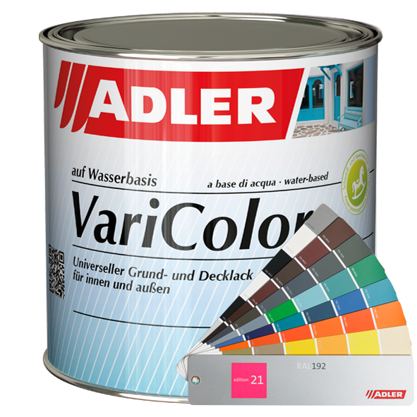 Acrylic varnish ADLER Varicolor (available in many colours)