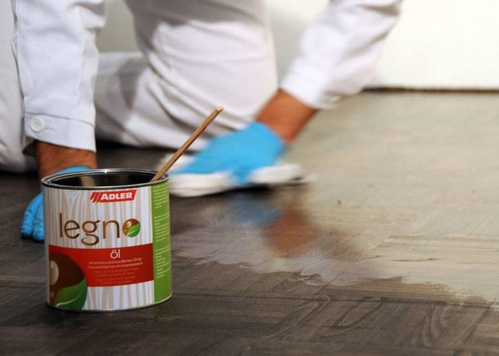 Olejování parketové nebo dřevěné podlahy