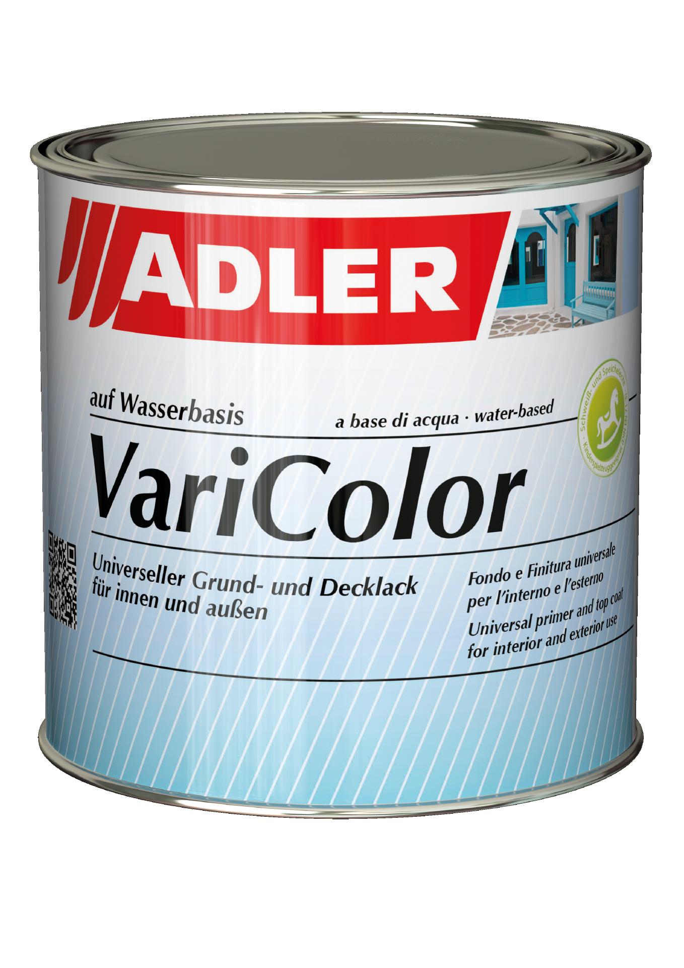 Clear coat, colourless & matt, ADLER Varicolor