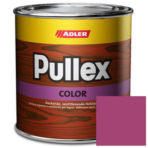 Opaque wood finish Pullex Color, RAL 4010 Telemagenta