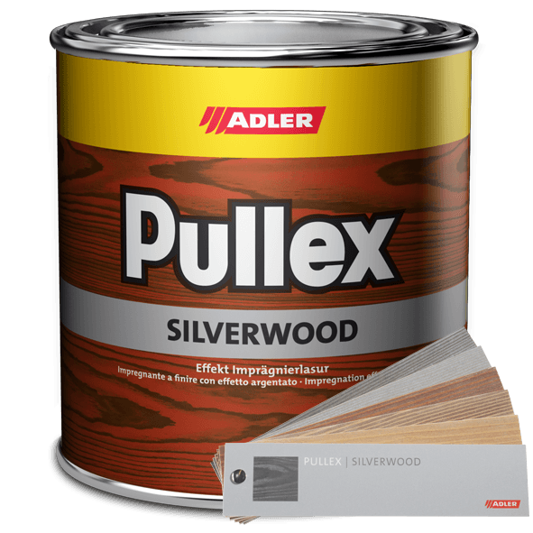 Effect glaze finish for wood used outdoors, Pullex Silverwood