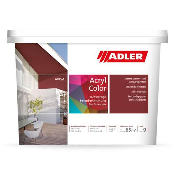 Aviva Acryl-Color, concrete and fibre cement panels