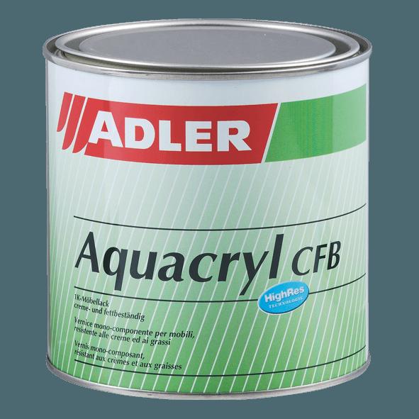 Aquacryl - bezbarvý lak do interiéru, lesklý/matný