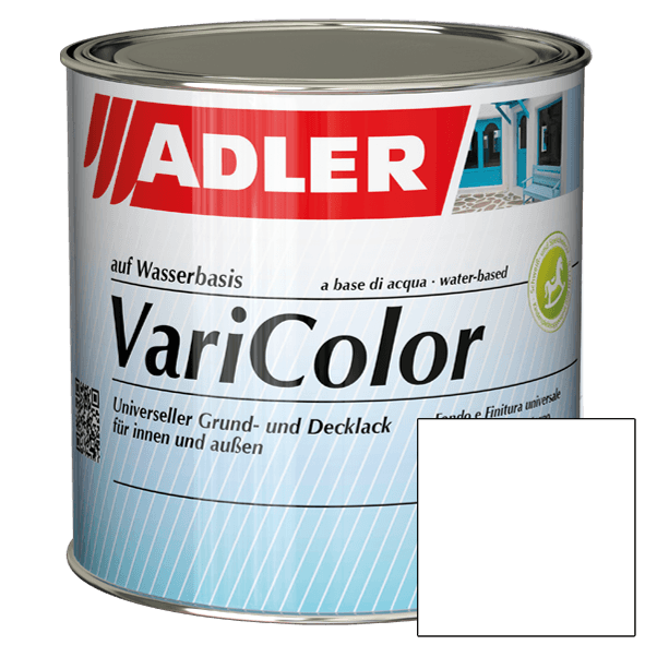 White enamel ADLER Varicolor, acrylic varnish