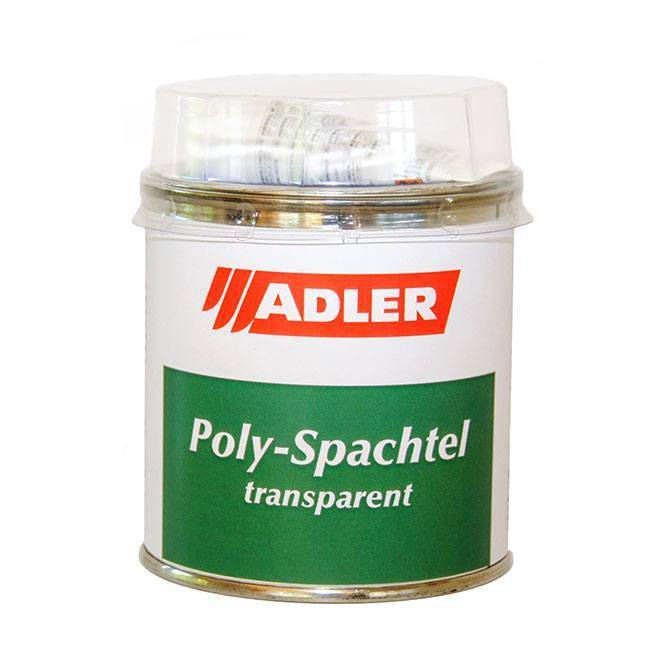 Poly-Spachtel - transparentní tmel