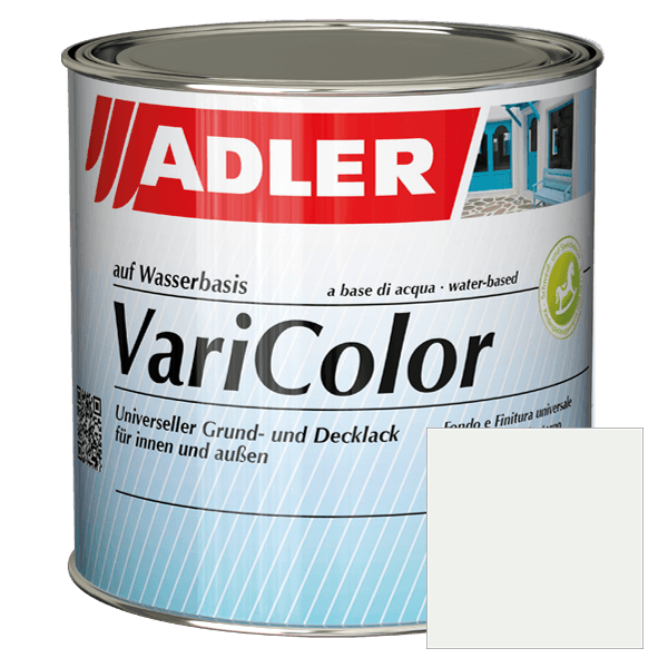 Acrylic varnish ADLER Varicolor, Traffic white RAL 9016