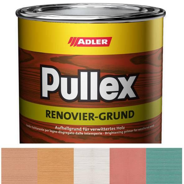 Pigmented wood preservative impregnation Pullex Renovier-Grund, exterior use