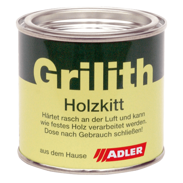 Grilith wood filler, many colours available