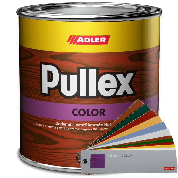 Opaque wood finish Pullex Color, many colours available