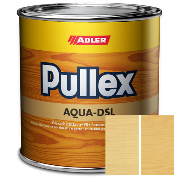 Pullex Aqua-DSL - silnovrstvá lazura na dřevo