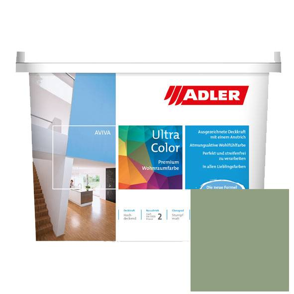 Premium wall paint Aviva Ultra-Color, Pale green RAL 6021