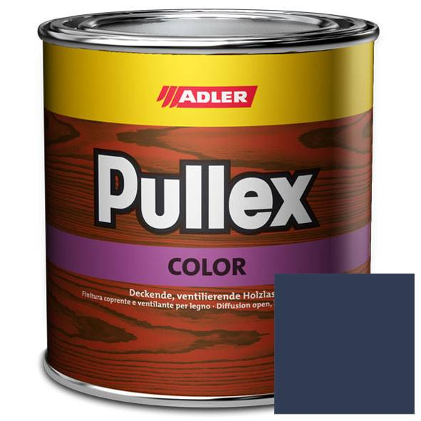 Opaque wood finish Pullex Color, RAL 5003 Saphire blue