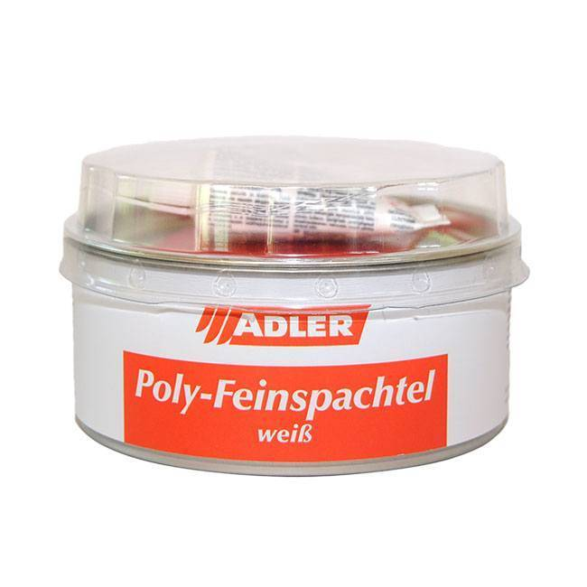 Universal two-component filler, furniture pieces and interior finishing, Poly Feinspachtel