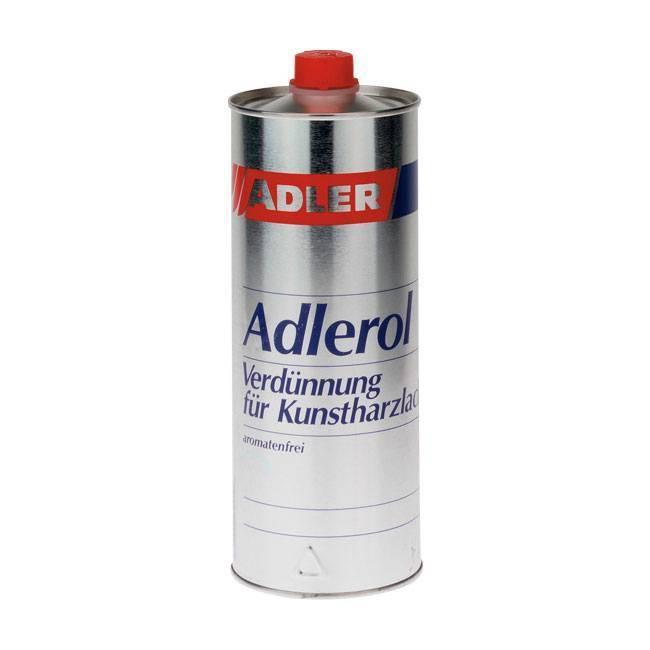 Adlerol – ředidlo pro syntetické nátěrové hmoty