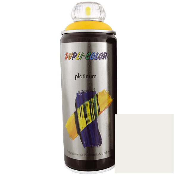 Platinum Spray Paint, RAL 9001 Pure white, 400 ml