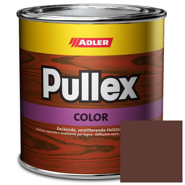 Opaque wood finish Pullex Color, RAL 8012 Red brown