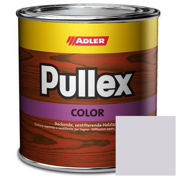 Opaque wood finish Pullex Color, RAL 9003 Signal white