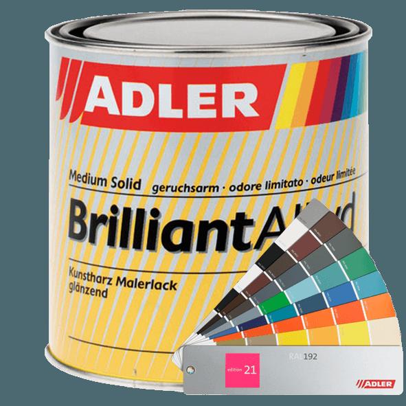 Brilliantalkyd - barevný lesklý lak na dřevo a kov v různých odstínech