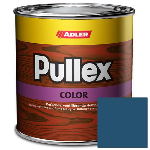 Opaque wood finish Pullex Color, Swedish blue 152/6