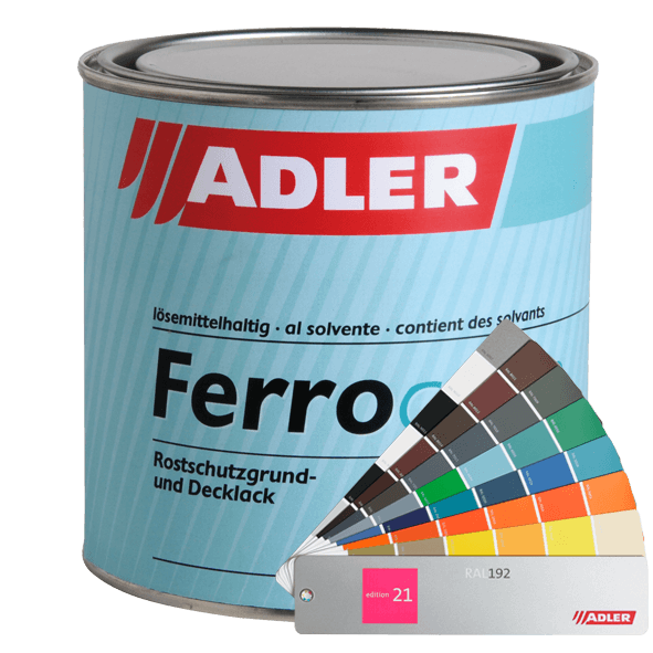 Metal coating Ferrocolor, many colours available