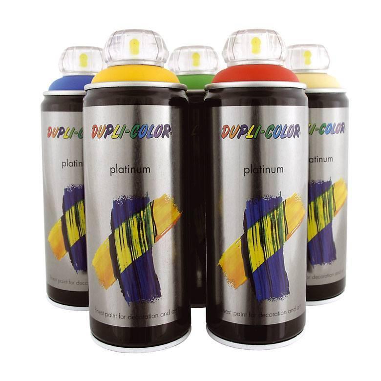 Platinum Spray Paint (400ml Acrylic paint, colored)